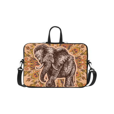 InterestPrint Custom Fantasy Patterned Elephant Damask 15.4  - 15.6  /Macbook Pro 15 Inch Laptop Sleeve Case Bags Skin Cover for Lenovo, GW, Acer, Asus, Dell, Hp, Sony, Toshiba