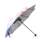 InterestPrint Butterfly Cherry Blossom Flower Foldable Travel Umbrella