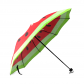 InterestPrint Fruit Watermelon Foldable Travel Rain Umbrella