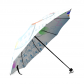 InterestPrint Hipster Atomic Chemistry Elements Periodic Table Foldable Travel Rain Umbrella