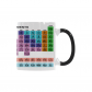 InterestPrint 11oz Chemical Element Periodic Table Morphing Mug Heat Sensitive Color Changing Coffee Mug Cup with Quotes, Unique Funny Birthday Christmas Gifts for Men Women Him Her Mom Dad