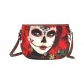 InterestPrint Custom Sugar Skull Saddle Bag/Shoulder Bag/for Women Girls