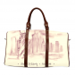InterestPrint Custom The Statue of Liberty Travel Bag /Duffel Bag/Luggage Bag/Weekender Bag