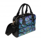 InterestPrint Beautiful Peacock Feather Women's Shoulder Handbag/Tote Bag/Travel Bag