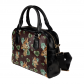 InterestPrint Giraffe Plants Watercolor Pattern Women's Shoulder Handbag/Tote Bag/Travel Bag