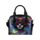 InterestPrint Sugar Skull Dia De Los Muertos Women's Shoulder Handbag/Tote Bag/Travel Bag
