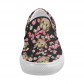 InterestPrint Emoji Monkey Floral Casual Slip-on Canvas Women's Fashion Sneakers Shoes