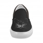 InterestPrint Halloween Cat Casual Slip-on Canvas Women's Fashion Sneakers Shoes