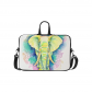 InterestPrint Custom Hand Drawn Elephant Colorful Floral 15.4  - 15.6  /Macbook Pro 15 Inch Laptop Sleeve Case Bags Skin Cover for Lenovo, GW, Acer, Asus, Dell, Hp, Sony, Toshiba