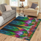 InterestPrint Sweet Home Modern Collection Custom Fractal pattern stained glass Area Rug 7'x 3'3  Indoor Soft Carpet Runners Rugs for Hallways