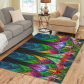 InterestPrint Sweet Home Modern Collection Custom Fractal pattern stained glass Area Rug 2'7 x 1'8  Indoor Soft Carpet